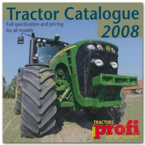 Tractor Catalogue 2008 CD-ROM