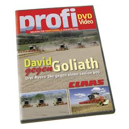 David takes on Goliath - Claas DVD