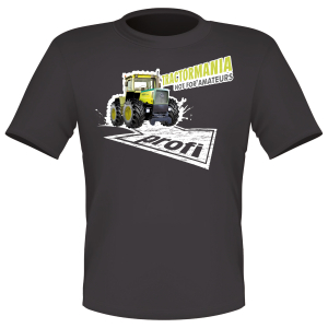 profi Dark Grey T Shirt 'Tractormania'