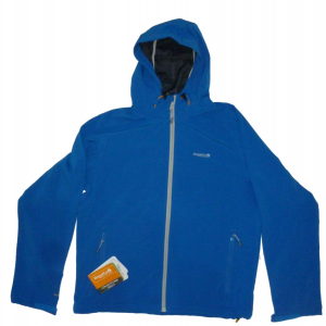 Regatta Mens Yoshy Softshell Hoody Oxford Blue Med