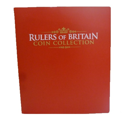 Rulers of Britain Coin Collection Coin Binder