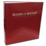 Rulers of Britain Coin Collection Magazine Binder