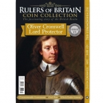 Rulers of Britain Coin Coll. Iss13-Oliver Cromwell