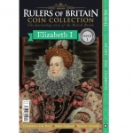 Rulers of Britain Coin Coll. Issue 1 - Elizabeth I