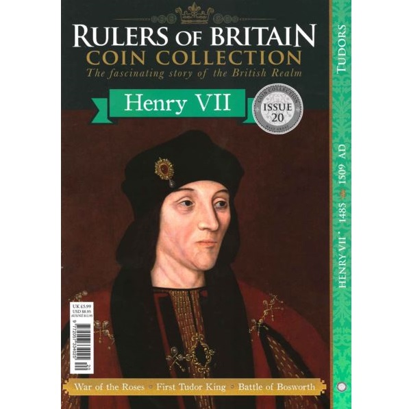 Rulers of Britain Coin Coll. Issue 20 - Henry VII