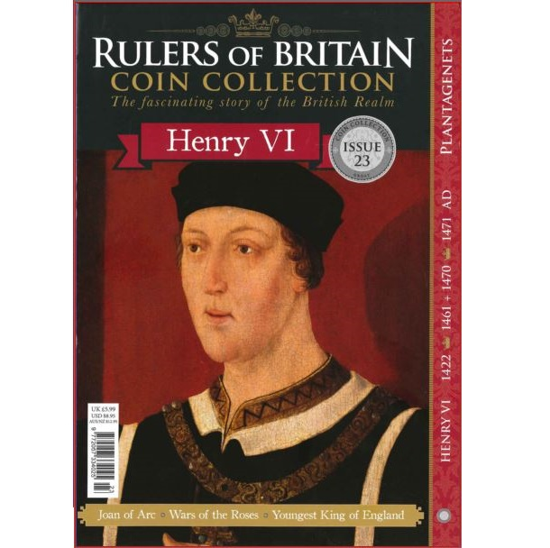 Rulers of Britain Coin Coll. Issue 23 - Henry VI