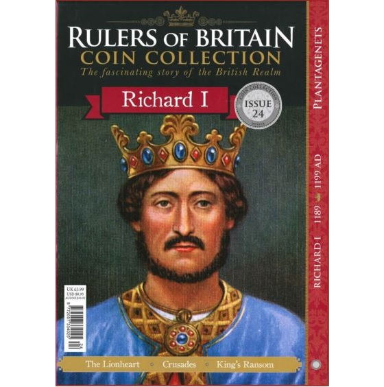 Rulers of Britain Coin Coll. Issue 24 - Richard I