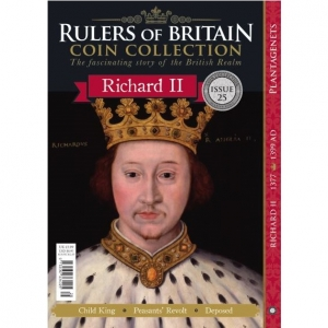 Rulers of Britain Coin Coll. Issue 25 - Richard II