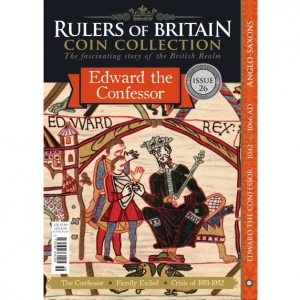 Rulers of Britain Coin Coll. Issue 26 Edward(1042)