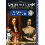 Rulers of Britain Coin Coll. Issue 6 - Will & Mary