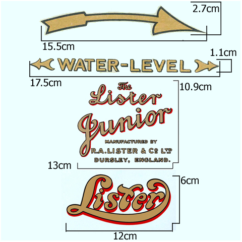 The Lister Junior Hopper Cooled Transfer Set