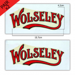 Stationary Engine Transfer No. 9 - Wolseley (x2 - a pair)