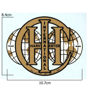 IHC International Globe Logo Transfer