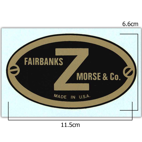 Fairbanks-Morse Z Plate Transfer