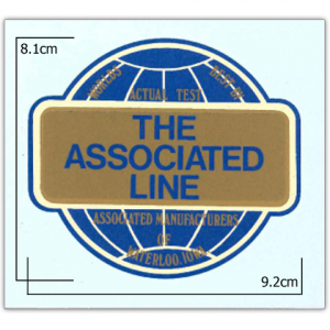 Stationary Engine Transfer No. 15 - Amanco  'The Associated Line'