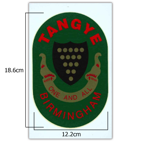 Stationary Engine Transfer No. 17B - TANGYE - LARGE