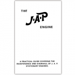 Stationary Engine Ref. Booklet - No. 37 The JAP Engine