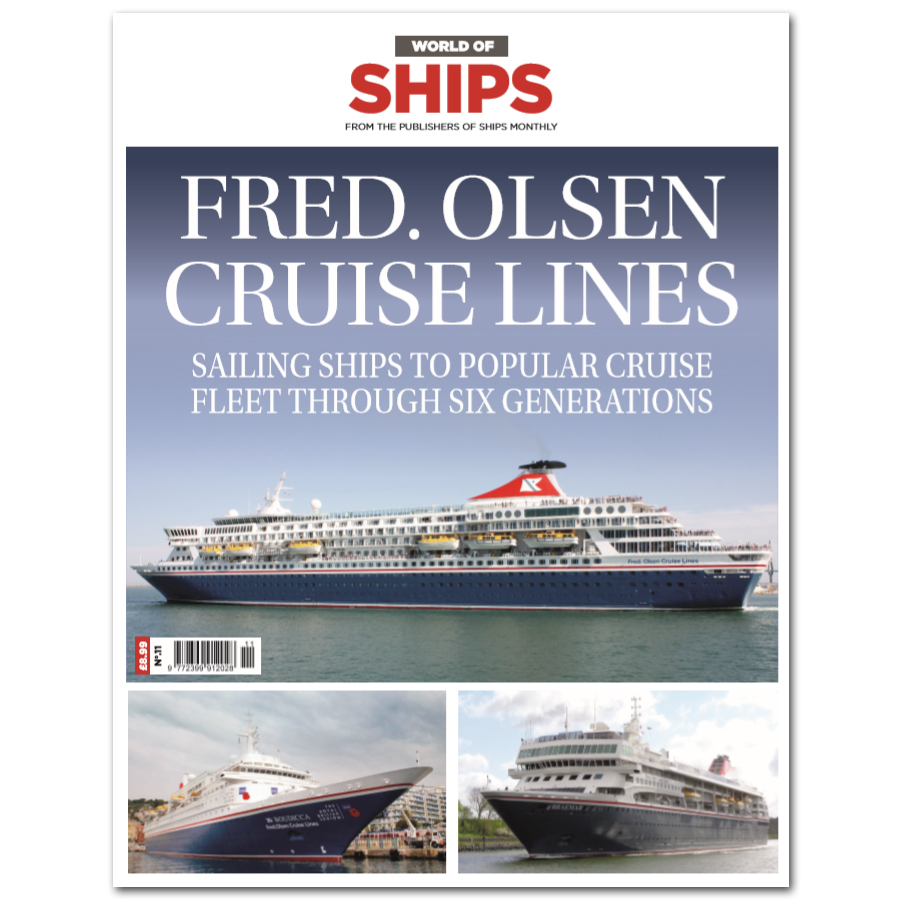 World of Ships #11 - Fred. Olsen Cruise Lines