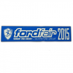 fordfair Sun 2nd Aug 2015 Silverstone Sticker