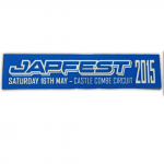 Japfest Sat 16th May Castle Combe Circuit Sticker