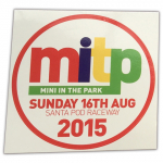 Mini in the Park 2015 Sticker