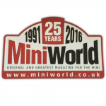 Mini World Magazine Sticker - 25 Years