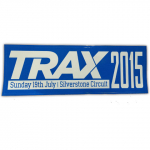 Trax 2015 Silverstone Sunday 19th July Sticker
