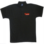Tractor & Farming Heritage Mag Black Polo Shirt