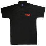 Tractor Magazine Black Polo Shirt
