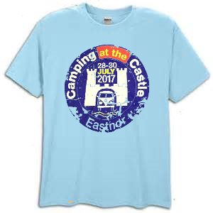 Camping At The Castle 2017 T-shirt