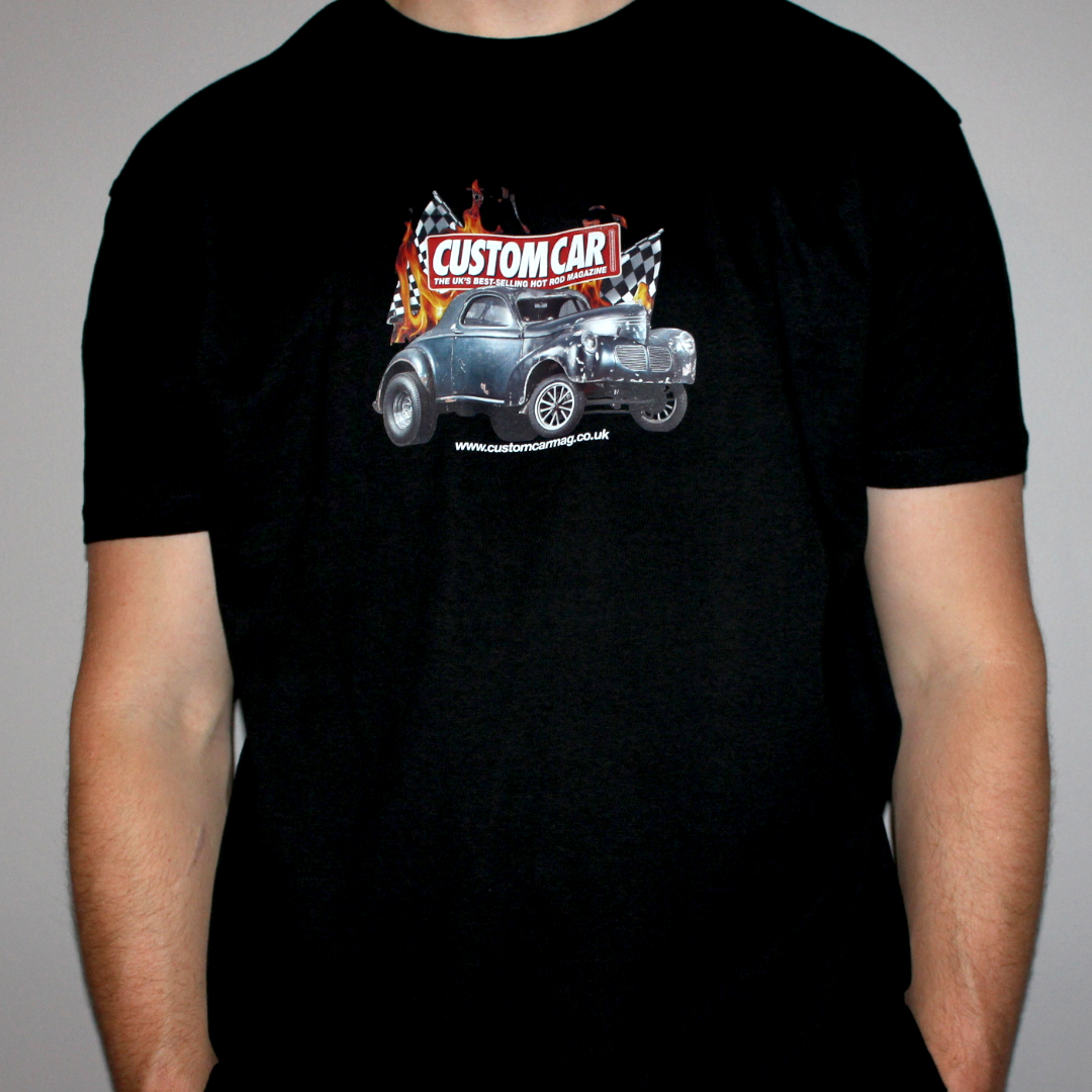 CUSTOM CAR BLACK TSHIRTS