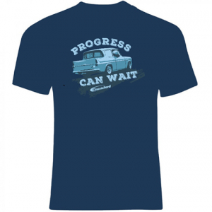 Classic Ford Show Progress Can Wait T-shirt