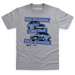 Classic Ford Show Grey T-Shirt No School Like...