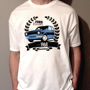 Classic Ford - Ford Escort Anniversary T-Shirt