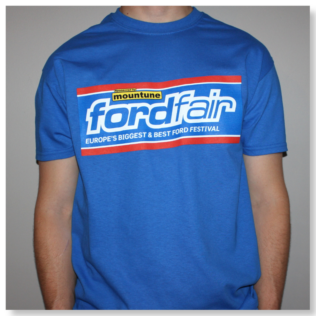 FORD FAIR BLUE TSHIRTS