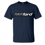 Fast Ford Large Logo Black T-Shirt