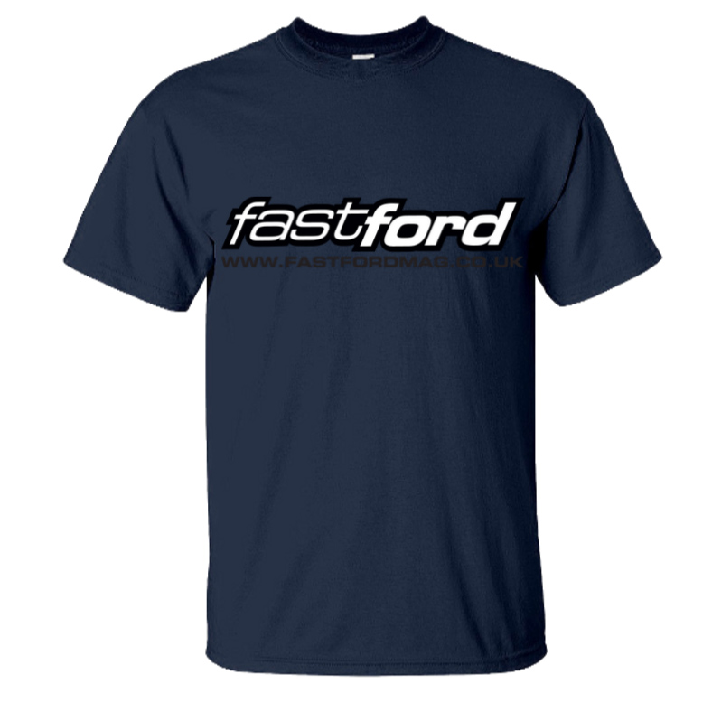 Fast Ford Large Logo Navy T-Shirt