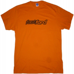 Fast Ford Large Logo Orange T-Shirt