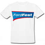 FordFest White T-shirt