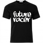 Future Racer - Childrens T-shirt Black
