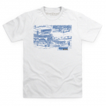 International Ford Show T Shirt Small