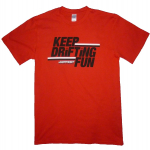 Japfest Red T-Shirt Keep Drifting Fun