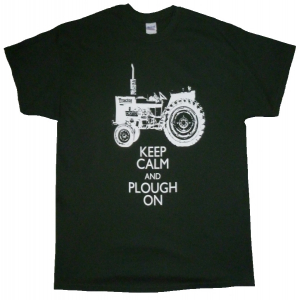Keep Calm and Plough On T-Shirt
