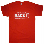 Race It Red T-Shirt Medium