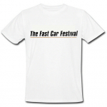 The Fast Car Festival White T-shirt